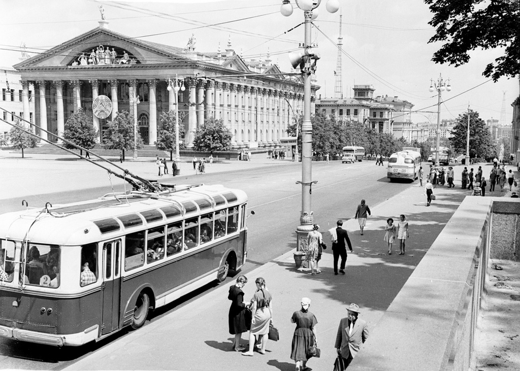 Минск, 1955 год, г. Минск